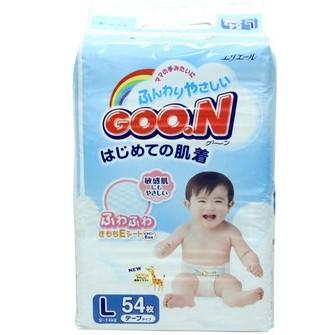 GOO.N 大王维E系列婴幼儿纸尿裤 S84/M68/L54/XL42 两包装 限华东地区