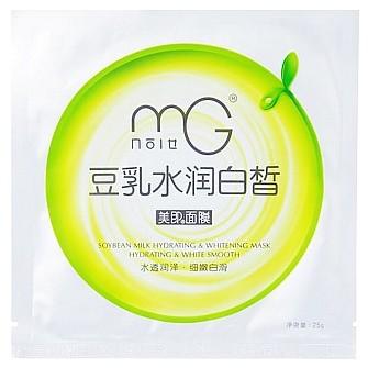 健一网 MG美即豆乳系列水润白皙面膜 25g*10片装