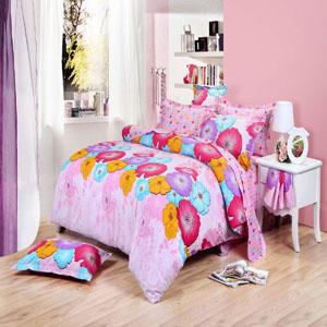 BEYOND 博洋家纺双人印花床单 四件套 1.5米床