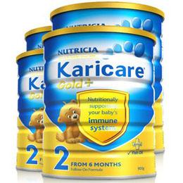 Karicare 可瑞佳2段幼儿配方奶粉 900g*4罐