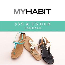 海淘:Myhabit 女式凉鞋凉拖专场促销
