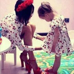 蜜友经验:麻麻和我亲子装系列