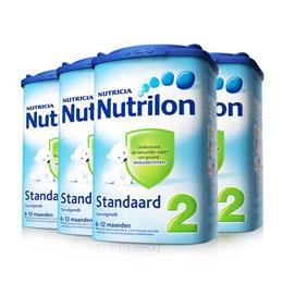 1号店 NUTRILON 诺优能 较大婴儿配方奶粉 2段奶粉 900g*4罐