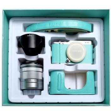京东商城 FUJIFILM 富士 16-50mm镜头套机 X-A1 薄荷绿礼盒装