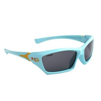 可得眼镜网 PROSUN 保圣 儿童偏光太阳镜 S1123系列(蓝、白)