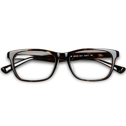 可得眼镜网 手慢无!Ray·Ban 雷朋 5315D-C2000-53 近视眼镜架(黑色,送镜片)