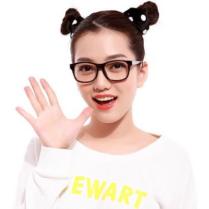 可得眼镜网 王牌特工男主相似款!HAN 汉代 光学近视眼镜架HD2901系列(2色)