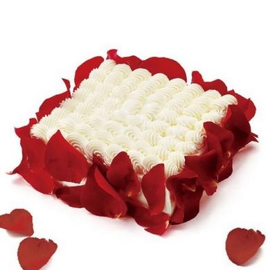 亚马逊中国 21cake 百利甜情人蛋糕 乳脂奶油蛋糕 1磅