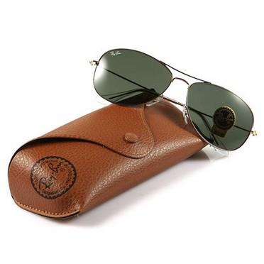 可得眼镜网 Ray-Ban 雷朋 ORB3362-001-59 金属太阳眼镜