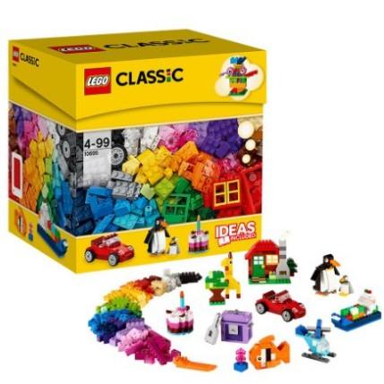 亚马逊中国 LEGO 乐高 CLASSIC 基础系列 10695 创意拼砌桶+拆件器