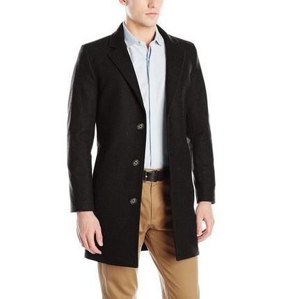 海淘:美国亚马逊 Nautica 诺帝卡 CC Wool Blend 羊毛混纺大衣