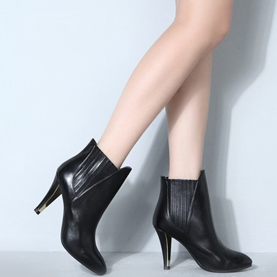 优购网 STACCATO 思加图 EF528DD3 女款尖头高跟靴