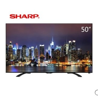易迅网 SHARP 夏普 LCD-50V3A 50英寸 液晶电视