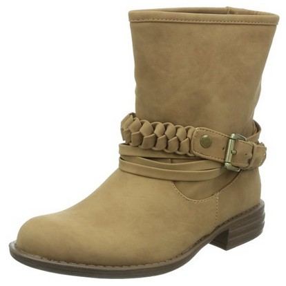海淘:美国亚马逊 SKECHERS 斯凯奇 USA Mad Dash Braid Harness 女款休闲短靴