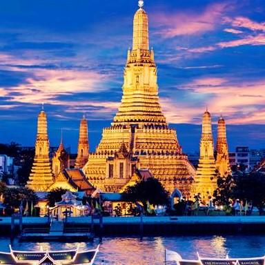 阿里旅行 北京-曼谷 7天往返含税机票 海航直飞