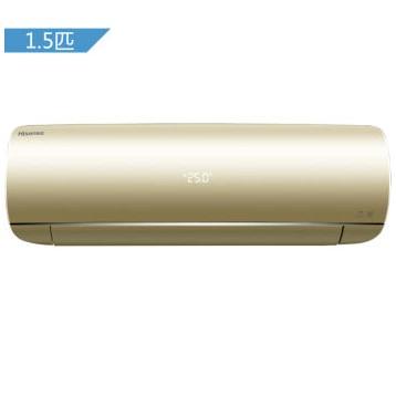 京东微信端 Hisense 海信 KFR-35GW/EF18A2(1P45) 1.5匹 冷暖变频 壁挂式空调